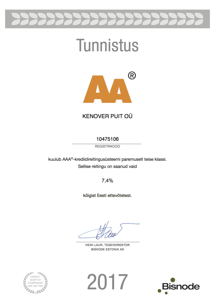 Kenover Puit krediidireiting