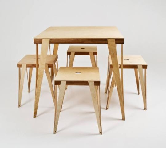 kokkupandavad toolid
